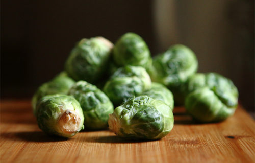 Sage-Roasted Brussels Sprouts