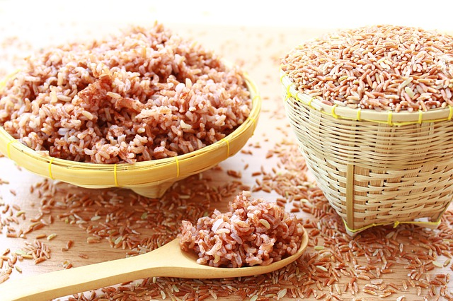 Short Grain Brown Rice with Sesame Salt