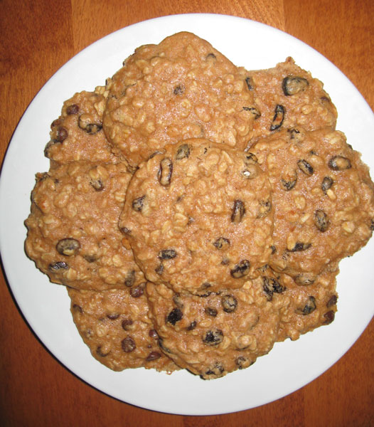 Oatmeal-Raisin-Cookies
