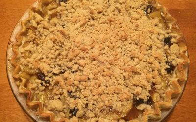 Apple Streusel Pie